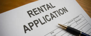 Rental application pen